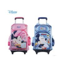 陆捌壹肆 富乐梦Disney 迪士尼米奇儿童拉杆包双肩减负书包可拆TR-M0532  一个装