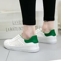 2017新款小白鞋女镂空透气板鞋