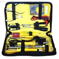 波斯工具 万用表/电烙铁/15件电讯组套工具包/电讯工具 BS511015