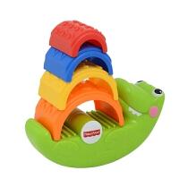 Fisher Price 费雪小鳄鱼叠叠乐 益智层层叠玩具 CDC48