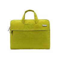 商务休闲办公笔记本电脑包男女士联想苹果手提内胆包13.3/14寸15.6寸男女手提式手提包