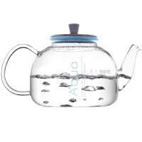 [当当自营]Vatiri 乐怡蓝鲸耐热玻璃茶壶/烧水壶1200ml VP0006