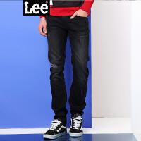 Lee男装 商场同款2017春夏新品复古低腰修身牛仔裤男L117092RP4LD