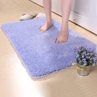 宝优妮毛绒地垫加厚进门客厅垫浴室吸水可机洗地毯卫浴脚垫门厅防尘垫60X90cm