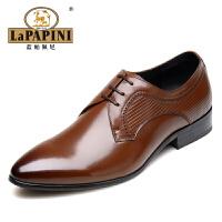 蓝帕佩尼皮鞋2015四季款男士正装鞋商务休闲鞋英伦风软面皮婚鞋正装鞋