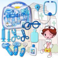 【满99减10】儿童过家家女童医生玩具套装3-4-5-6周岁女孩宝宝仿真打针听诊器
