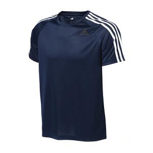 adidas阿迪达斯男装短袖T恤2017年新款综合训练运动服BK0969