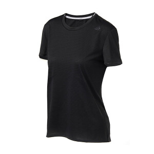adidas阿迪达斯女装短袖T恤2017年新款跑步运动服S94414