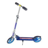 休闲户外运动大轮PU轮铝成人 可折叠两轮脚踏滑板车