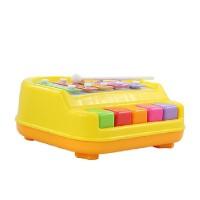 宝丽欢乐小木琴手敲琴5音阶音乐宝宝婴儿童玩具1-3岁以上