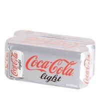 Coca-Cola Light 健怡可口可乐 330ml*8罐(组)