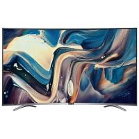 MOOKA 智能电视 55Q3M 55英寸安卓智能曲面电视,黄金曲率,三星液晶屏,4K宽频引擎技术(非4K分辨率),64位高速处理器,安卓4.4系统
