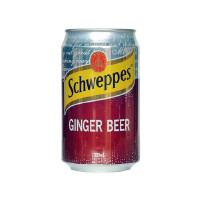 Schweppes GINGER BEER 玉泉�K啤味汽水 330ml*4罐