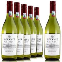 奔富洛神山庄霞多丽干白葡萄酒 澳洲原装进口 750ml*6整箱 螺旋盖