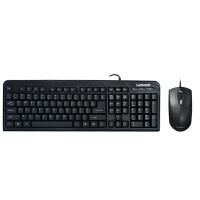 联想 键盘鼠标 KM4800 全usb 笔记本 台式机 有线 键鼠套装