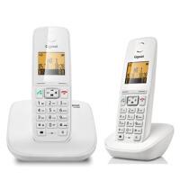 集怡嘉(Gigaset)原西门子品牌C230套装数字无绳电话机一拖一(珍珠白)