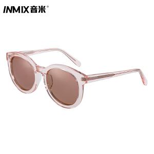 音米新款防紫外线太阳眼镜时尚潮流男女同款墨镜全框炫彩眼镜5064
