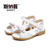 斯纳菲女童鞋凉鞋儿童公主鞋大童小女孩宝宝凉鞋2017新款韩版夏季