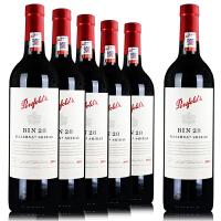 奔富BIN28 澳洲红酒 原瓶原装进口 2010干红葡萄酒 750ml*6 整箱