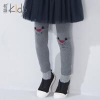 初语童装女童打底裤春秋款小脚裤儿童长裤女铅笔裤宝宝秋裤