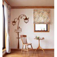 宜美贴 路灯街景 客厅沙发电视墙卧室床头浪漫温馨韩国壁纸墙贴纸