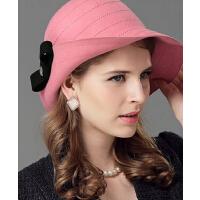 秋冬新款小檐帽礼帽呢  韩版时尚羊毛帽女    帽毡帽时装帽盆帽