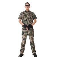 多袋林地丛林通用 迷彩服套装 户外休闲野战作训 军迷服饰男装备 吸湿排汗透气耐磨速干