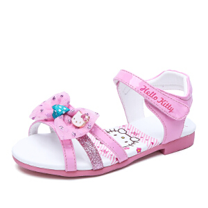 HELLO KITTY童鞋女童凉鞋夏季新款儿童凉鞋公主鞋