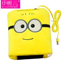 伊暖儿 新品USB暖手鼠标垫电暖发热鼠标垫-双眼小黄人(基准型)