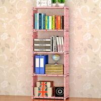 蜗家自由组合柜子 层架 简易安装置物架 收纳架可擦洗儿童储物柜书架