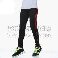 收腿裤男运动长裤运动裤针织跑步修身小脚kelme足球训练裤