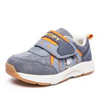 史努比童鞋春季新品Apollo系列儿童机能鞋网面透气学步鞋男童S7111821