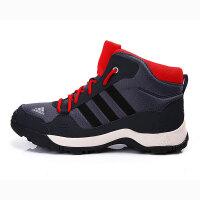 adidas阿迪达斯童冬季新品男小童4-10岁高帮户外鞋AQ4137