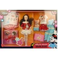 芭比娃娃可儿娃娃6102经典米妮野餐组合关节体女孩礼物