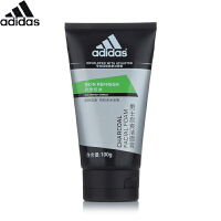 阿迪达斯 Adidas劲透控油男士炭爽洁面膏100g 男士洗面奶