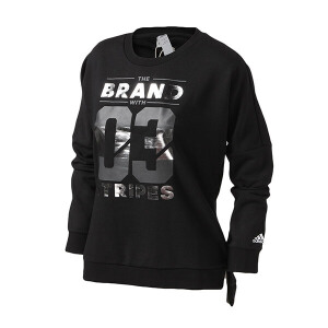 adidas阿迪达斯女装卫衣套头衫运动服BQ1314