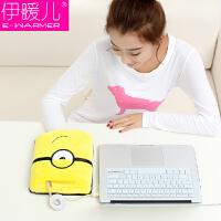 伊暖儿 新品USB暖手鼠标垫电暖发热鼠标垫-单眼小黄人(基准型)