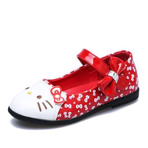HelloKitty童鞋甜美时尚鸿公主鞋