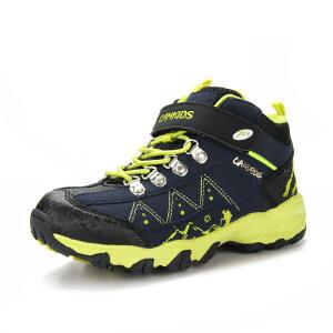 camkids小骆驼 男童鞋 儿童运动鞋 中童高帮登山鞋 耐磨防滑585411 新品