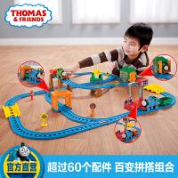 【当当自营】托马斯小火车电动轨道多多岛百变轨道套装玩具CGW29