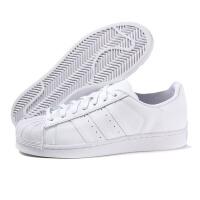 adidas阿迪达斯三叶草男女鞋板鞋小白鞋SUPERSTAR贝壳头B27136