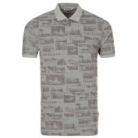 探路者春夏新款男士透气吸汗棉短袖POLO衫T恤TAJD81579