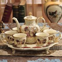 唐丰功夫茶具紫砂茶杯组合零件整套仿宋汝窑黑檀实木茶盘套装