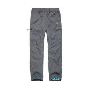 camkids骆驼 童装 男童裤子 儿童户外运动风衣裤 透气运动休闲长裤 415803