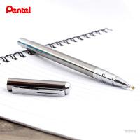 日本pentel派通钢杆BL625金属杆水笔 中性笔走珠笔商务签字笔