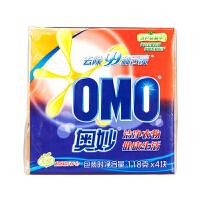 [当当自营] 奥妙 99超效洗衣皂 118g*4