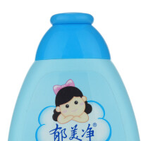 郁美净 儿童鲜奶沐浴液200ml 温和滋养滋润保湿