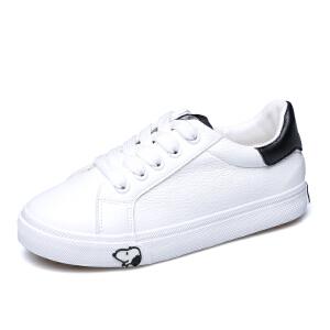 史努比童鞋男童板鞋新品运动鞋帆布鞋白色板鞋中大童潮