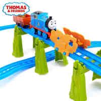 费雪托马斯小火车头益智玩具 城堡大冒险电动轨道套装BGL99
