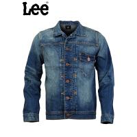 lee 时尚休闲 男款长袖夹克牛仔外套 L10695D01499